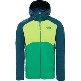 The North Face Stratos Jas Heren groen/petrol